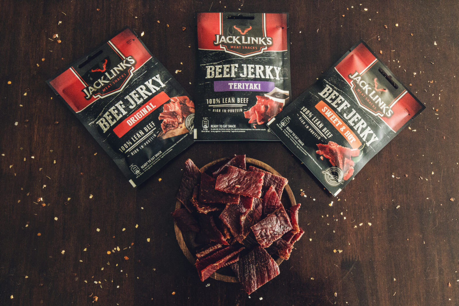 Jack Links - Delicate strips of premium beef combined with